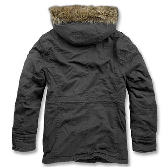 winter jacket men's - Vintage Explorer Black - BRANDIT