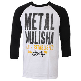 t-shirt street men's - FIRST RAGLAN - METAL MULISHA, METAL MULISHA