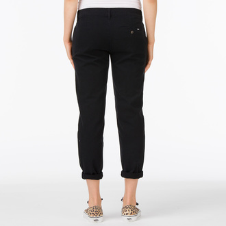 pants women VANS - G Pleated Chino - Black