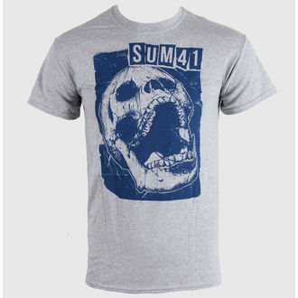 t-shirt metal men's Sum 41 - Skull Sports - LIVE NATION - 10509