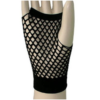 gloves (sleeve) Legwear - Short Fishnet - Black - SAGSFN1BL1