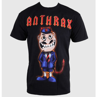 t-shirt metal men's Anthrax - TNT Cover - ROCK OFF - ANTHTEE07MB