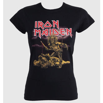 t-shirt metal women's Iron Maiden - - ROCK OFF - IMTEE27LB