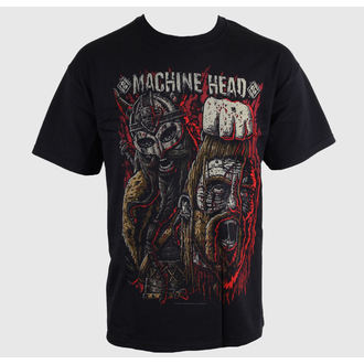 t-shirt metal men's Machine Head - Goliath Red - ROCK OFF - MAHTEE04MB