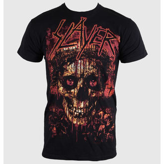 t-shirt men Slayer - Crowned Skull - ROCK OFF - SLAYTEE11MB