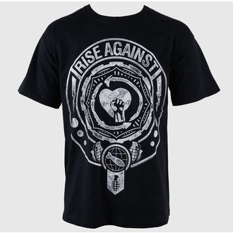 t-shirt metal men's Rise Against - Bombs Away - PLASTIC HEAD - PH7498