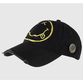 cap Nirvana - Smiley - ROCK OFF, ROCK OFF, Nirvana