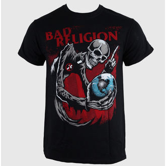 t-shirt metal men's Bad Religion - Skull - LIVE NATION - 10506
