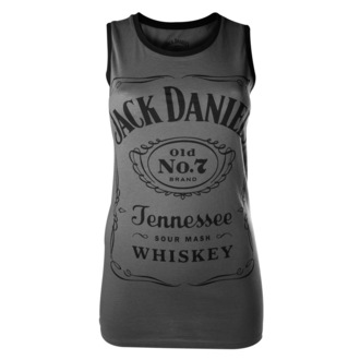 top women Jack Daniels - Charcoal - BIOWORLD - TS500201JDS