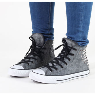 high sneakers women's - Chuck Taylor AS Collar Studs - CONVERSE - C540222