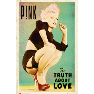 poster Pink - The Truth About Love - LP1612