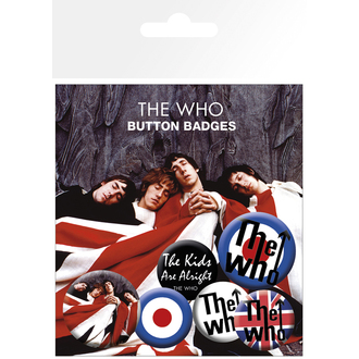 badges The Who - Lyrics And Logos - BP0464
