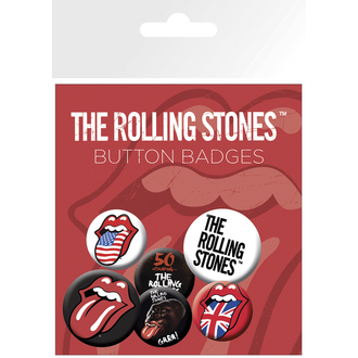 badges The Rolling Stones - Lips - BP0429
