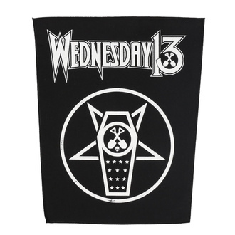 Large patch Wednesday 13 - What The Night Brings - RAZAMATAZ, RAZAMATAZ, Wednesday 13