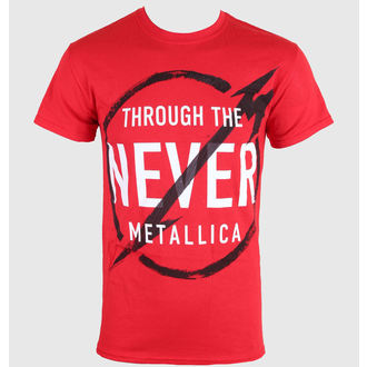 t-shirt metal men's Metallica - Never - LIVE NATION - RTMTL039