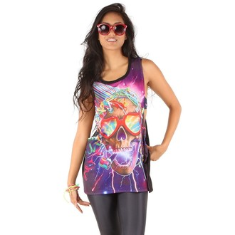 top women IRON FIST - Party Skull