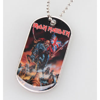 collar (dog tag) Iron Maiden - Maiden England - RAZAMATAZ