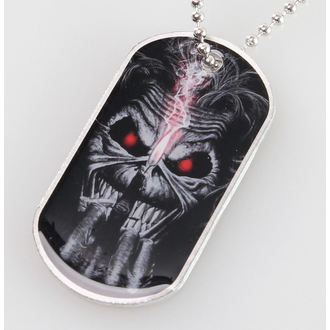 collar (dog tag) Iron Maiden - Eddie Candle Finger - RAZAMATAZ, RAZAMATAZ, Iron Maiden