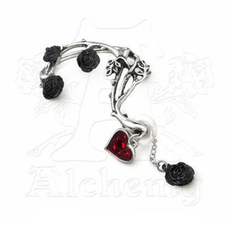 earrings ALCHEMY GOTHIC - Bed of Blood Roses Ear Wrap - E329
