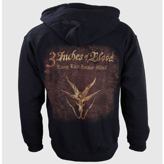 hoodie men's 3 Inches of Blood - Long Live Heavy Metal - RAZAMATAZ - ZH160