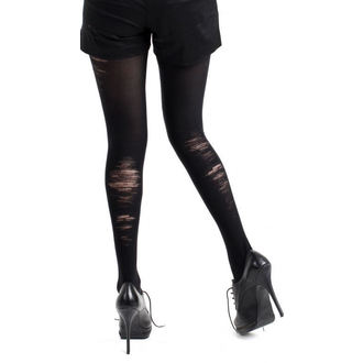 tights PAMELA MANN - Bruised Opaque Tights Black - 016
