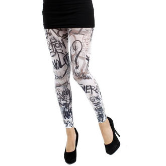 leggings (tights) PAMELA MANN - Evolution Footless Tights - White - 022