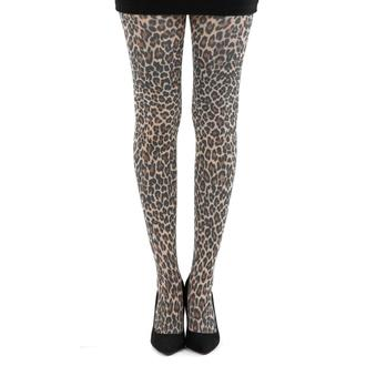 tights PAMELA MANN - Small Leopard Tights - Natural - 057