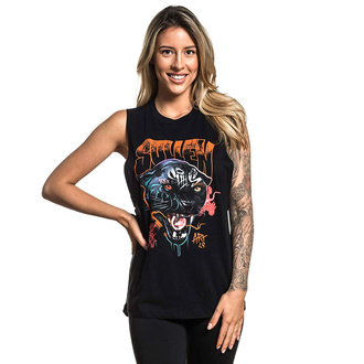 Women's tank top SULLEN - MASHKOW PANTHER - BLACK - SCW2520_BK