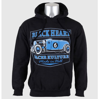 hoodie men's - Roadster - BLACK HEART -