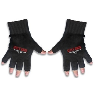 gloves fingerless Guns N Roses - Logo & Pistols - RAZAMATAZ - FG036