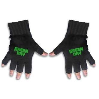 gloves fingerless Green Day - Logo - RAZAMATAZ - FG038