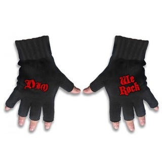 gloves fingerless Dio - Logo & We Rock - RAZAMATAZ, RAZAMATAZ, Dio