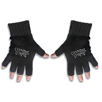 gloves fingerless Cannibal Corpse - Logo - RAZAMATAZ - FG044