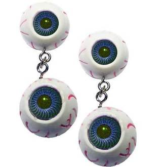 earrings KREEPSVILLE SIX SIX SIX - Eyeball - Blue - Eebb