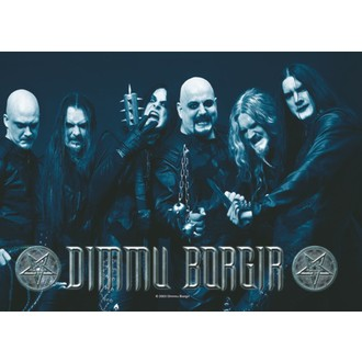 flag Dimmu Borgir - Band Photo - HFL0572