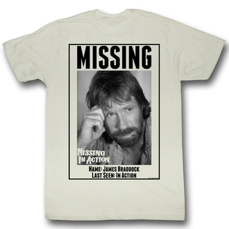 film t-shirt men's Mission in Action - Missing - AMERICAN CLASSICS - MIA519