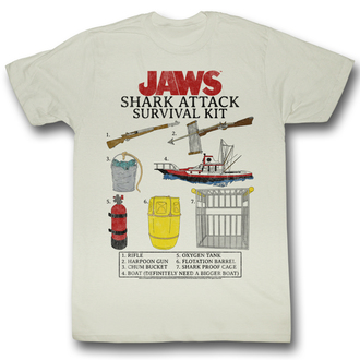 film t-shirt men's ČELISTI - Survival Kit - AMERICAN CLASSICS - JAW5218