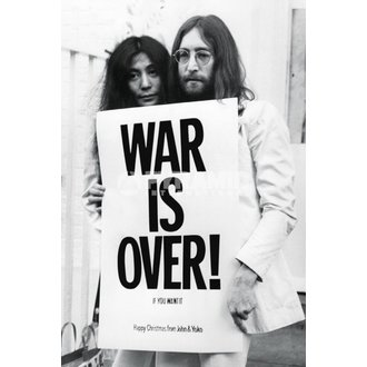 poster John Lennon - War Is Over - PYRAMID POSTERS - PP32563