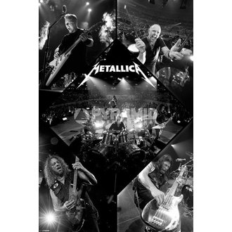 poster Metallica - Live - PYRAMID POSTERS - PP32830