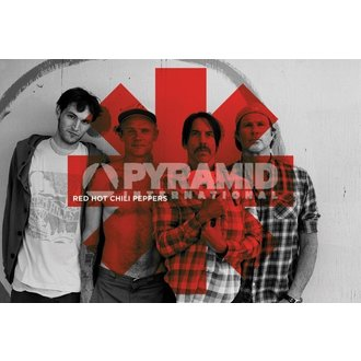 poster Red Hot Chili Peppers - Red Asterix - PYRAMID POSTERS - PP32844