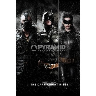 poster Batman - The Dark Knight Rises - Three - PYRAMID POSTERS - PP32866