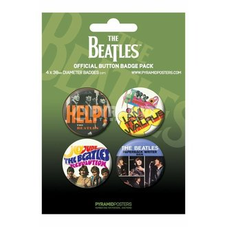 badges The Beatles - Green - PYRAMID POSTERS - BP80284