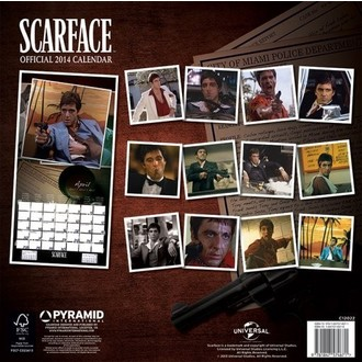 calendar 2014 Scarface - PYRAMID POSTERS