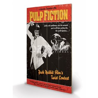 wooden image Pulp Fiction - Twist Contest - PYRAMID POSTERS - LW10496P