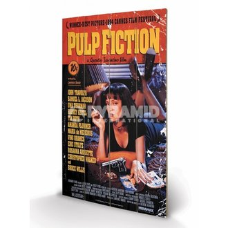 wooden image Pulp Fiction - Cover - PYRAMID POSTERS - LW10497P