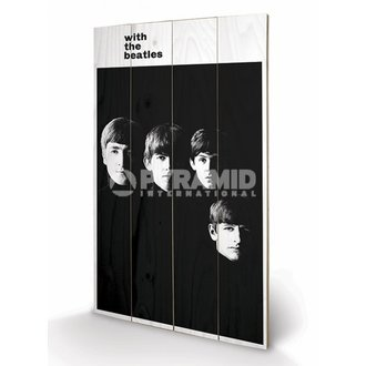 wooden image The Beatles - With The Beatles - PYRAMID POSTERS - LW10959P