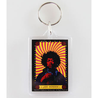 key ring (pendant) Jimi Hendrix - Pyschedelic - PYRAMID POSTERS - PK5376