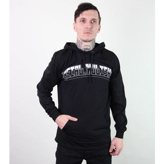 hoodie men's - Downfall - METAL MULISHA - Blk