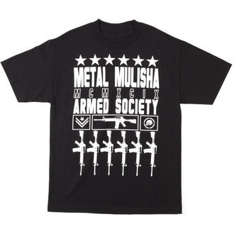 t-shirt street men's - Proud - METAL MULISHA - Proud - Blk
