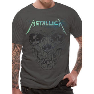 t-shirt metal men's Metallica - Pushead Ionised - LIVE NATION - RTMTL008
